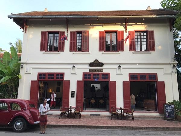 旧市街のメインストリート スリー・ナガス・ルアンパバン<デラックスルーム>に泊まるふたり旅/世界遺産の中にあるホテルにのんびり3泊ステイ