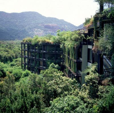 世界唯一無二のホテル ヘリタンスカンダラマと自然回帰派ヘルスリゾート&アーユピヤサでのデトックス7日間/カンダラマ2泊+アーユピヤサ3泊