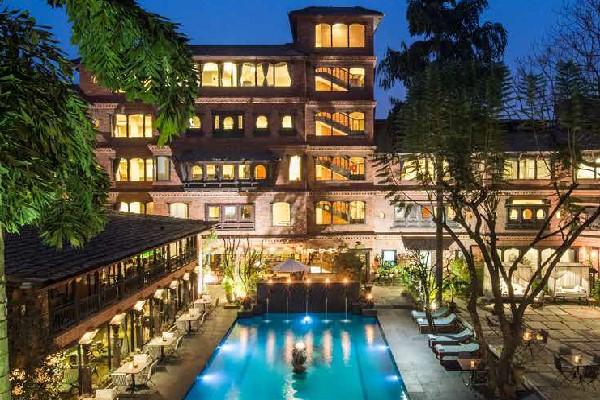 最短で愉しむネワールの古都ふたり旅5日間 街籠り/成田発着・キャセイパシフィック航空利用/伝説のホテル ドゥワリカに泊まる贅沢