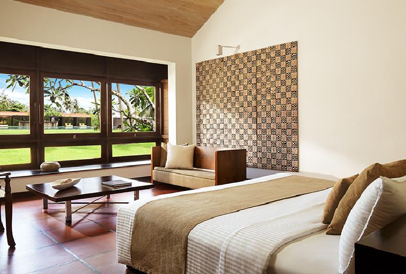 大阪発/スリランカにある唯一無二のホテル達を巡る~バワの面影を探す旅7日間/カンダラマ+NO11+ルヌガンガ+ライトハウスはテーマスイート泊