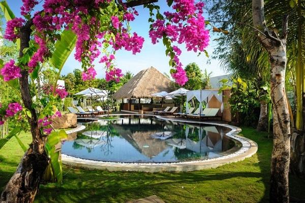 ふたり旅★ ヨガやトリートメントが楽しめる隠れ家ホテル ナブツドリームスで味わう新しいカンボジア体験5日間/トゥクトゥク乗り放題・アンコールワット観光・送迎・朝食付