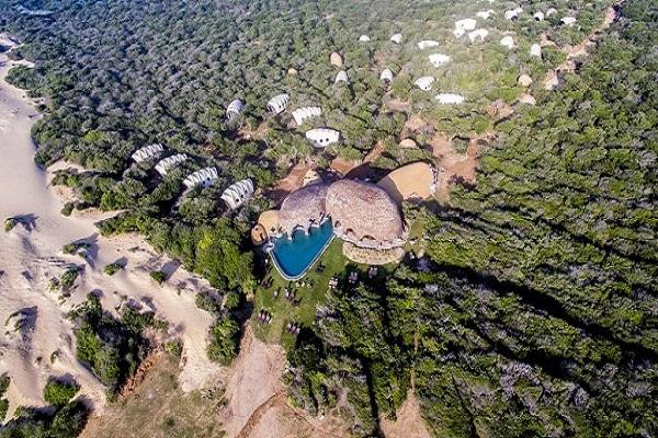 ヤーラの豪華テントホテルに泊まる大人のスリランカ・サファリ/テンテッドキャンプ&ケープヴェリガマ泊/スリランカの豊かさに驚く、もうひとつの顔/ ヨーロピアン達がこぞって訪れるヤーラ国立公園2泊 本格サファリ&リゾート7日間