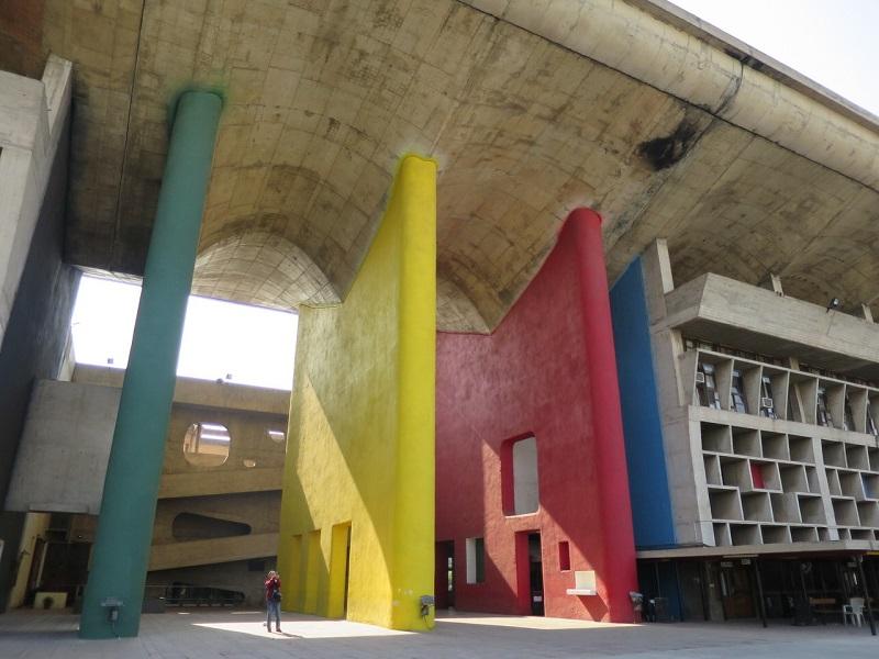 インド近代建築を巡る旅/ル・コルビュジェ建築をたっぷり訪ねるデリー・チャンディガール6日間/日本語ガイドがしっかりご案内・全食事付 アレンジ可